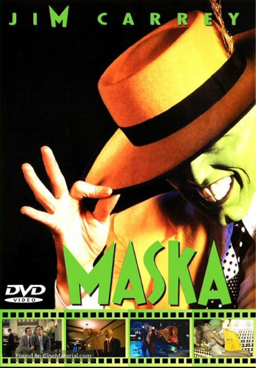 The Mask - DVD movie cover