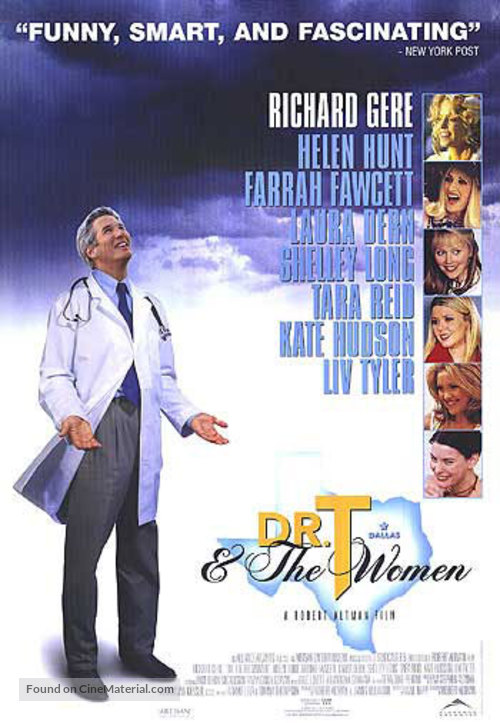 Dr. T & the Women - Canadian Movie Poster