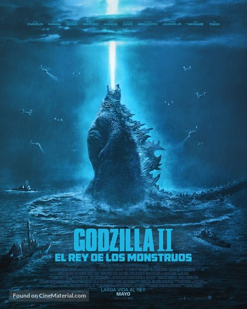 Godzilla: King of the Monsters - Mexican Movie Poster