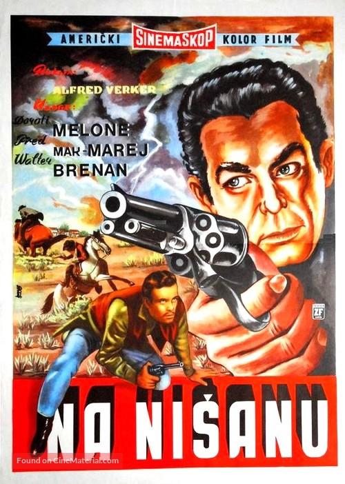 At Gunpoint - Yugoslav Movie Poster
