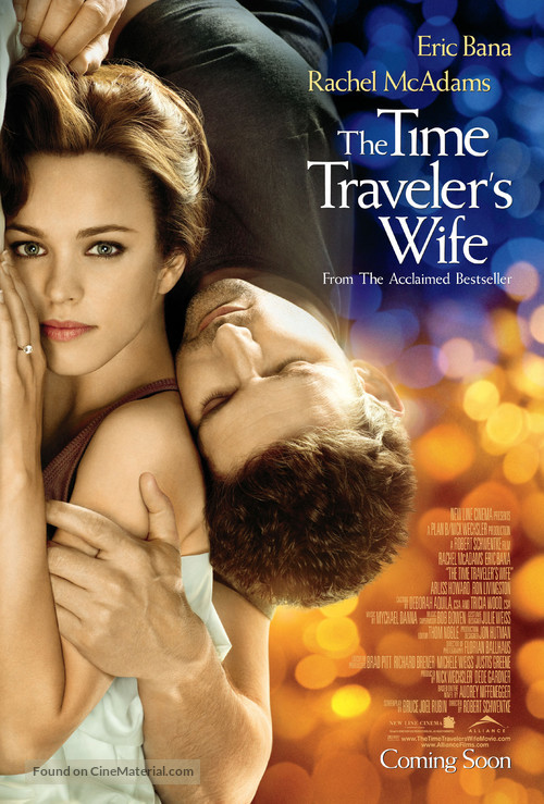 The Time Traveler's Wife - Canadian Movie Poster