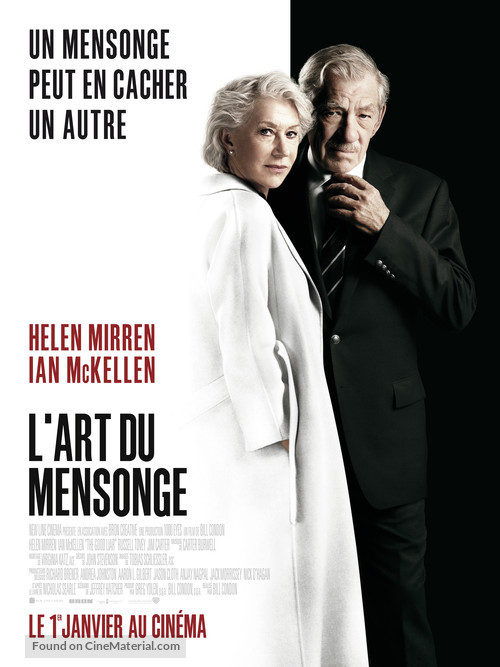 The Good Liar - French Movie Poster