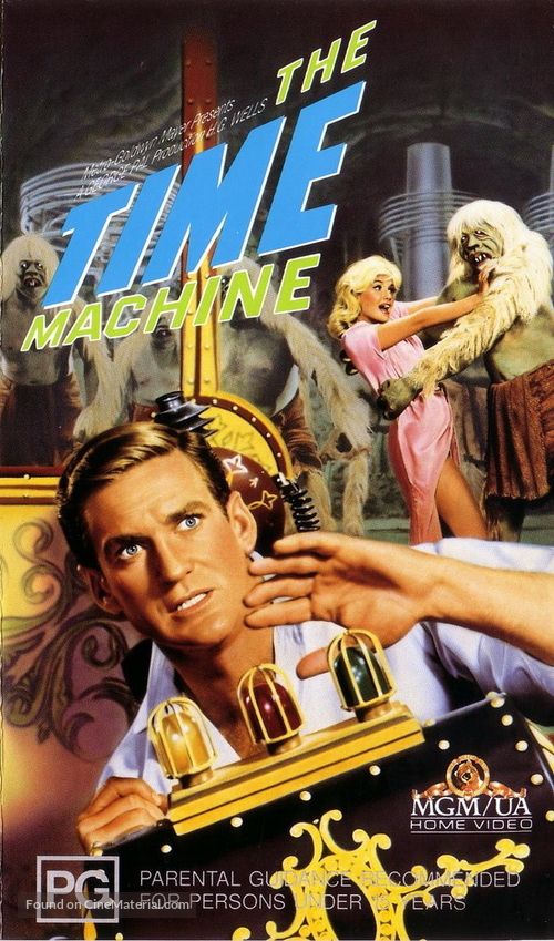 The Time Machine - Australian VHS movie cover