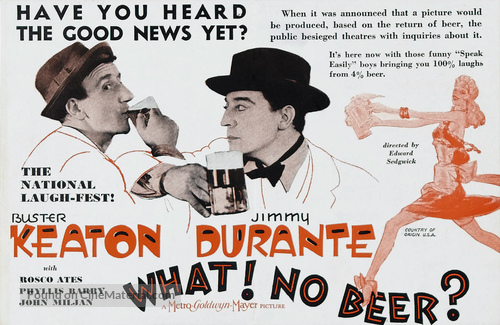 What! No Beer? - poster