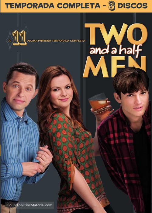 """Two and a Half Men"" - Brazilian DVD movie cover"