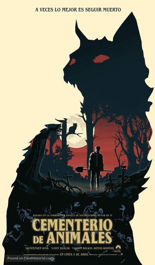 Pet Sematary - Spanish Movie Poster