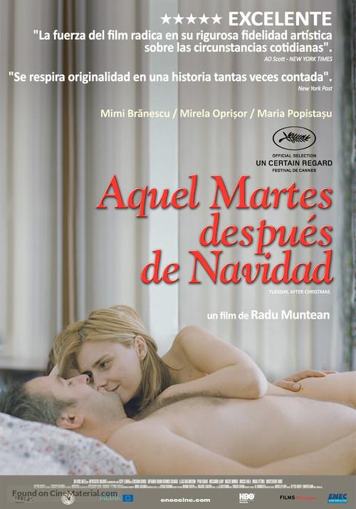 Tuesday After Christmas 2010.Marti Dupa Craciun 2010 Uruguayan Movie Poster