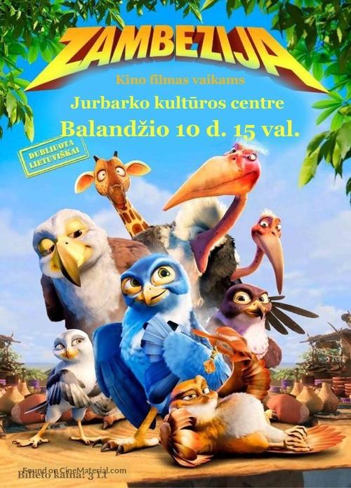 Zambezia - Lithuanian Movie Poster
