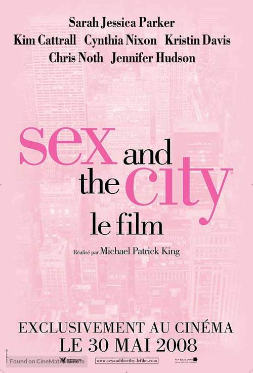Sex and the City - French Movie Poster