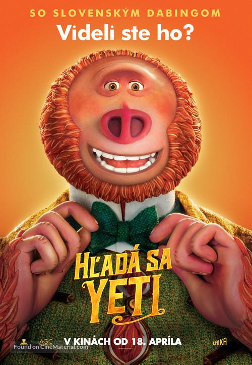 Missing Link - Slovak Movie Poster