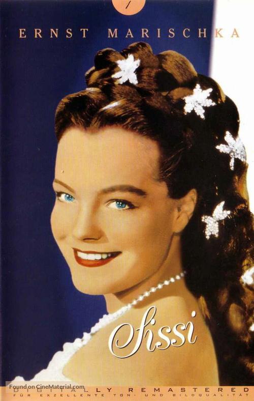 Sissi - German VHS movie cover