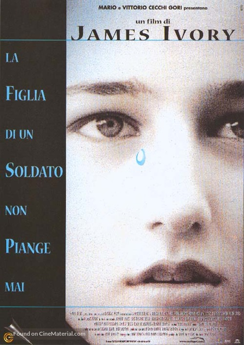 A Soldier's Daughter Never Cries - Italian Movie Poster