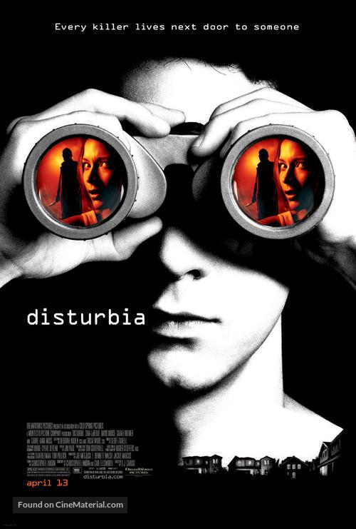 Disturbia - Movie Poster