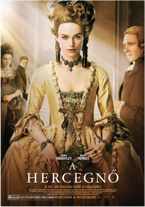 The Duchess - Hungarian Movie Poster