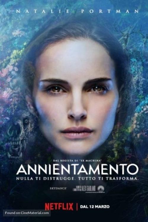 Annihilation - Italian Movie Poster