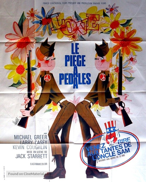 The Gay Deceivers - French Movie Poster