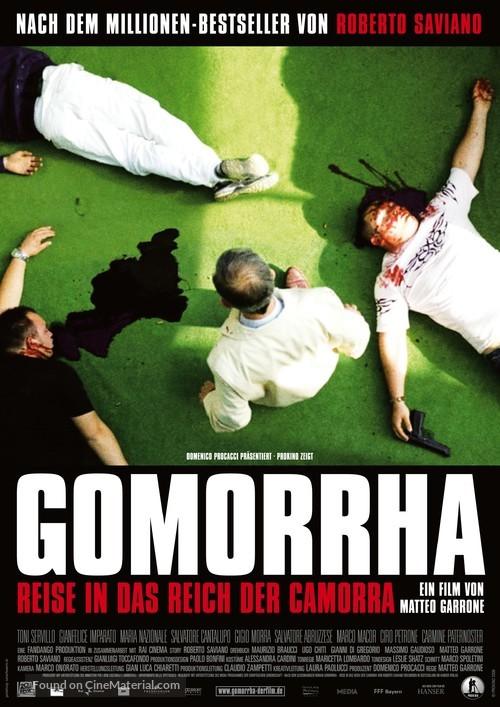 Gomorra - German Movie Poster
