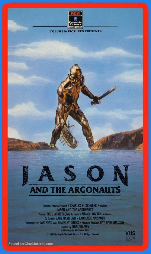 Jason and the Argonauts - Movie Cover