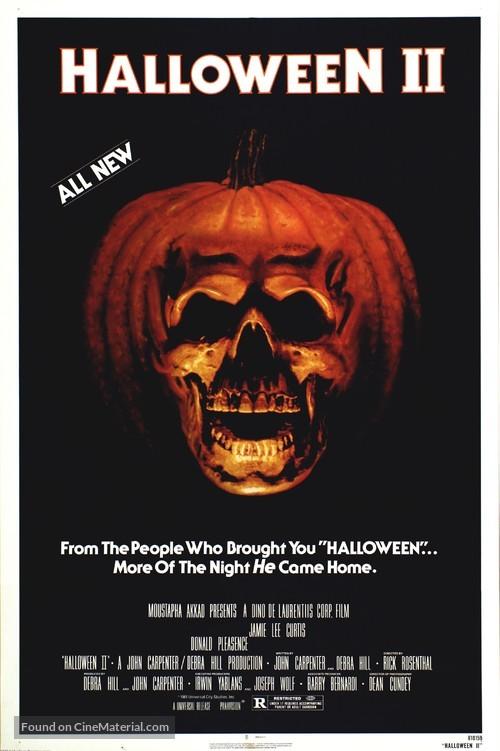 Halloween II - Movie Poster