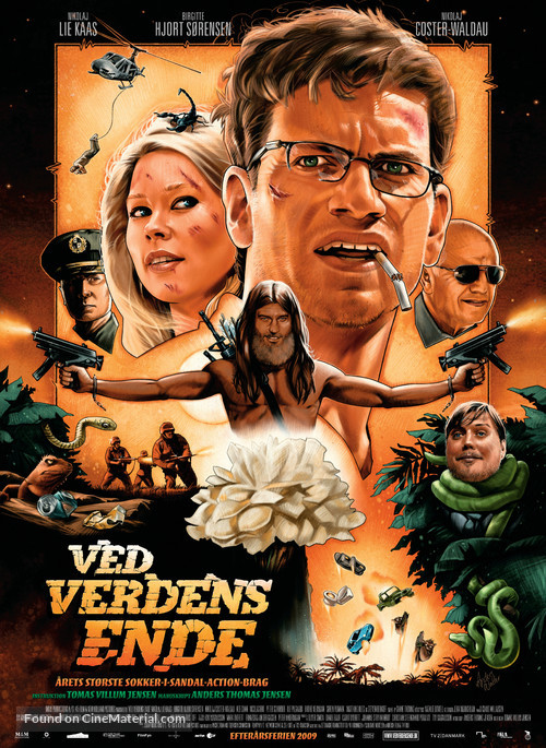 Ved verdens ende - Danish Movie Poster