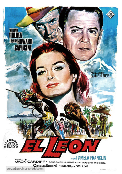 The Lion - Spanish Movie Poster