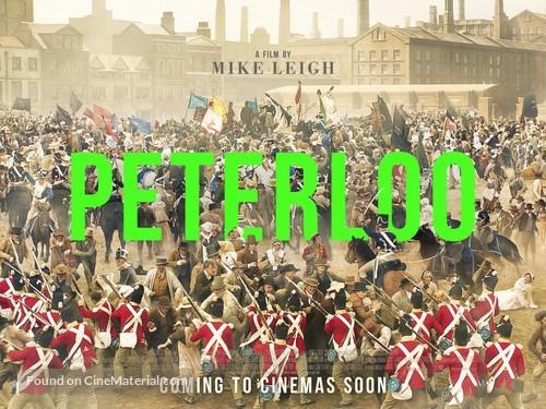 Peterloo - British Movie Poster