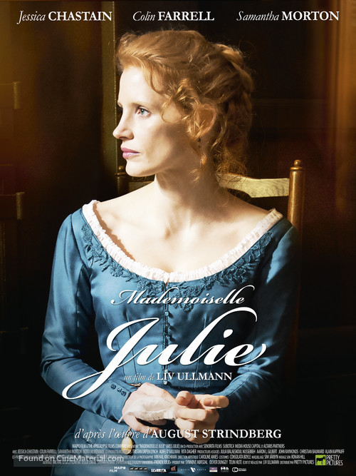 Miss Julie - French Movie Poster