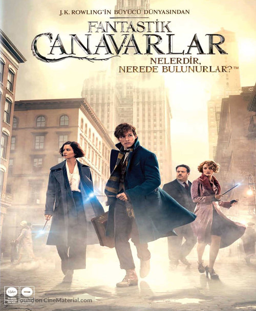 Fantastic Beasts and Where to Find Them - Turkish Movie Cover