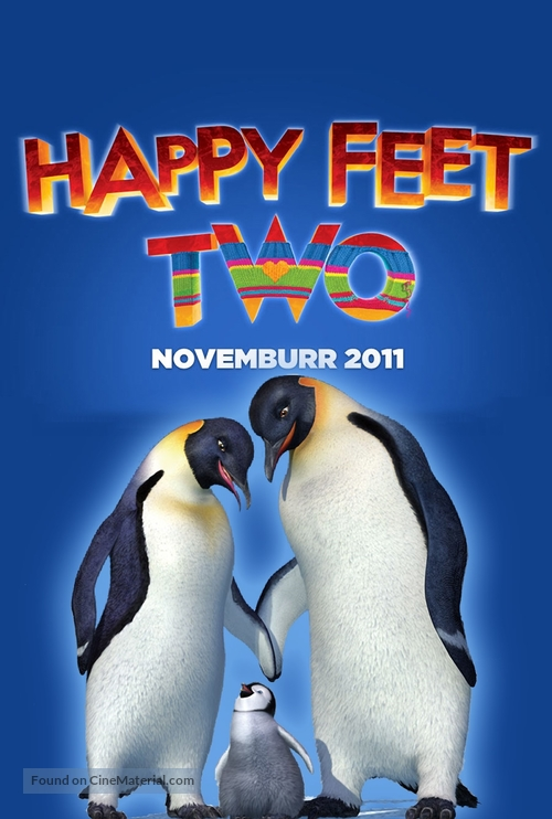 Happy Feet Two - Argentinian Movie Poster