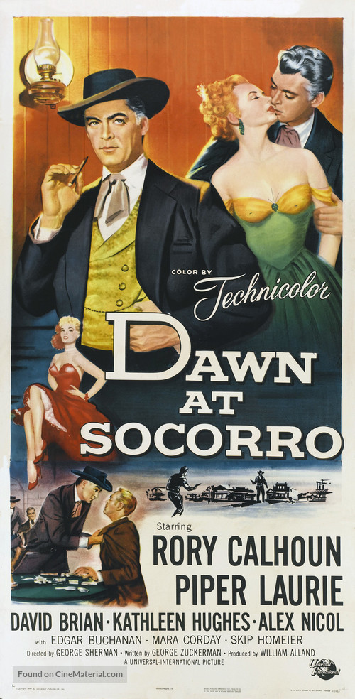 Dawn at Socorro - Movie Poster
