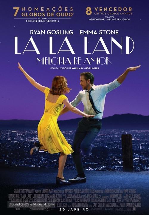 La La Land - Portuguese Movie Poster