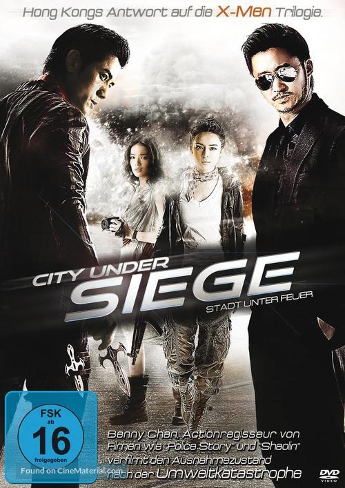 City Under Siege - German DVD cover