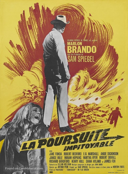 The Chase - French Movie Poster