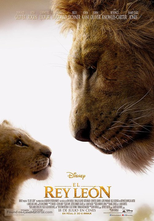 The Lion King - Spanish Movie Poster