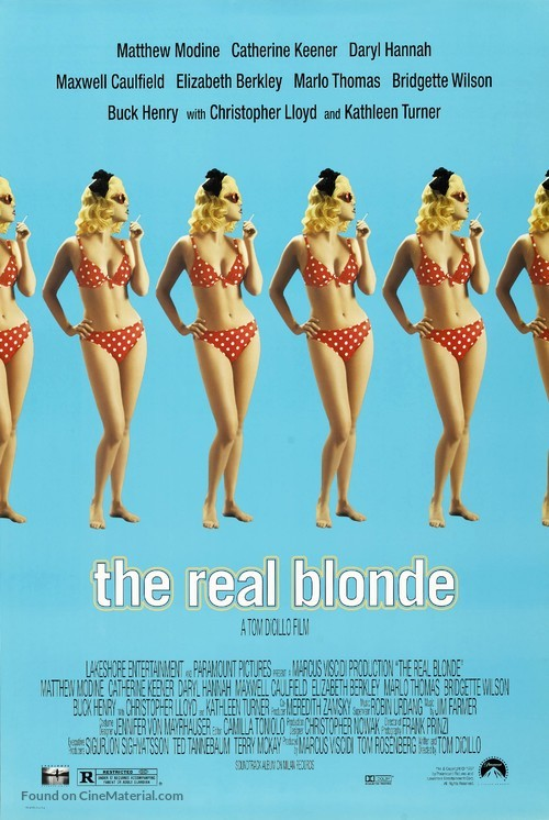 The Real Blonde - Movie Poster
