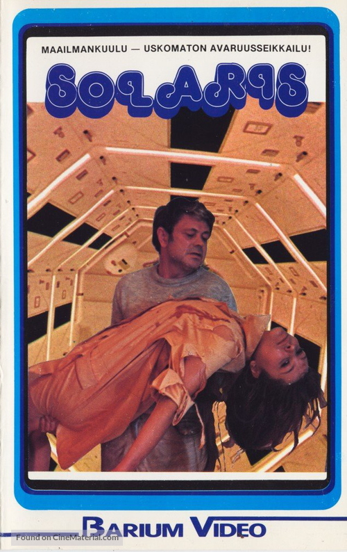 Solyaris - Finnish VHS movie cover