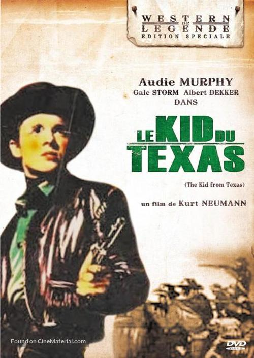 The Kid from Texas - French DVD movie cover