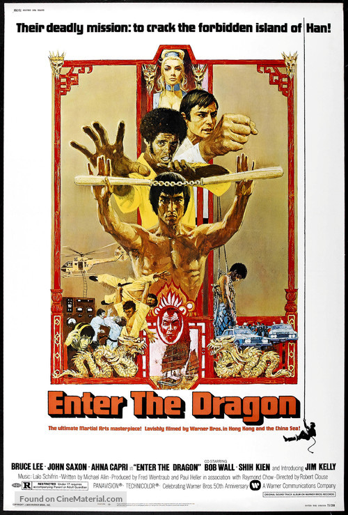 Enter The Dragon - Movie Poster