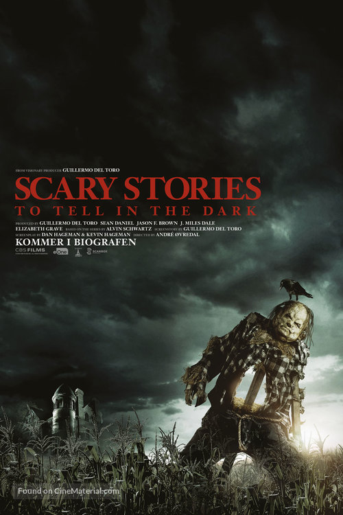 Scary Stories to Tell in the Dark - Danish Movie Poster