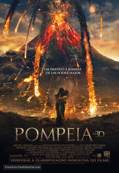 Pompeii - Brazilian Movie Poster