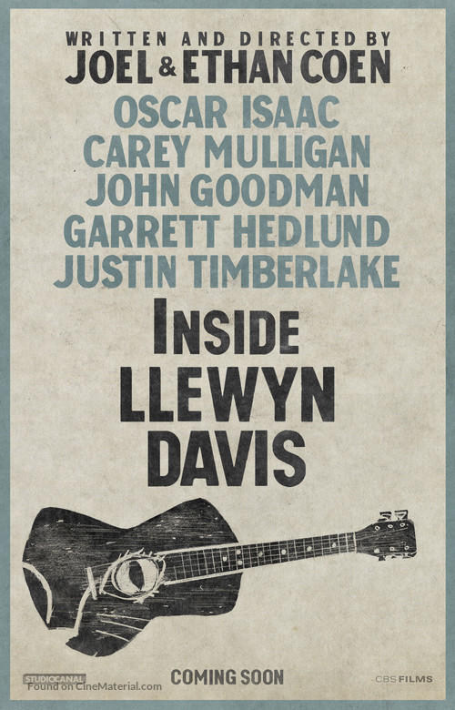 Inside Llewyn Davis - Movie Poster