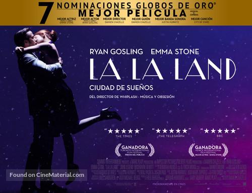 La La Land - Chilean Movie Poster