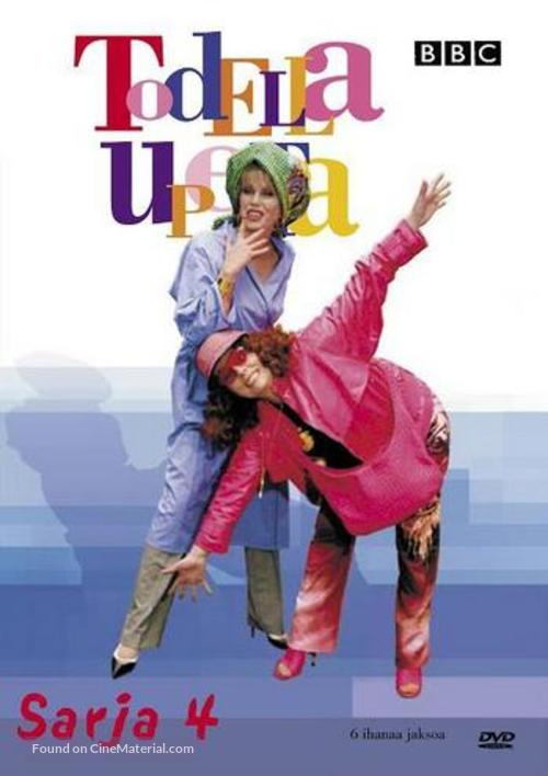 """""""Absolutely Fabulous"""" - Finnish DVD movie cover"""