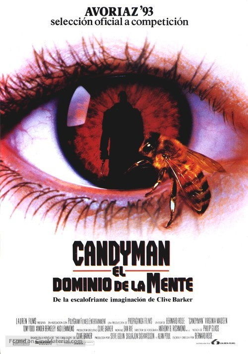 Candyman - Spanish Movie Poster