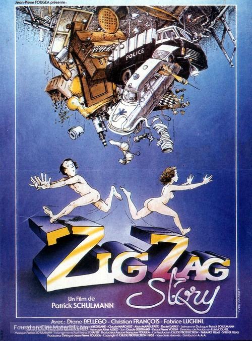 Zig Zag Story - French Movie Poster