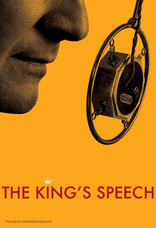 The King's Speech - British Movie Poster