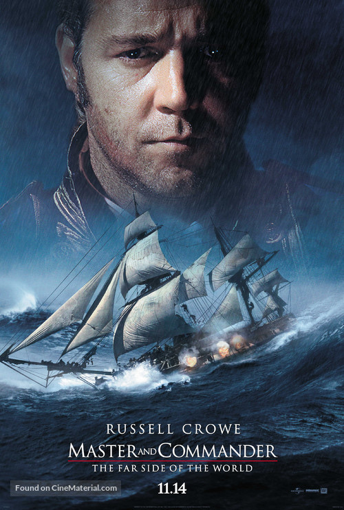 Master and Commander: The Far Side of the World - Teaser movie poster