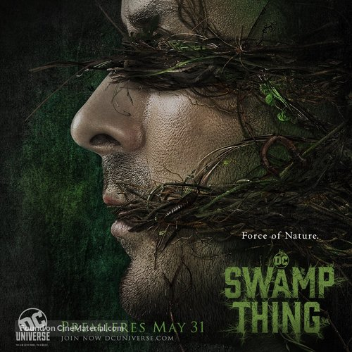 """""""Swamp Thing"""" - Movie Poster"""