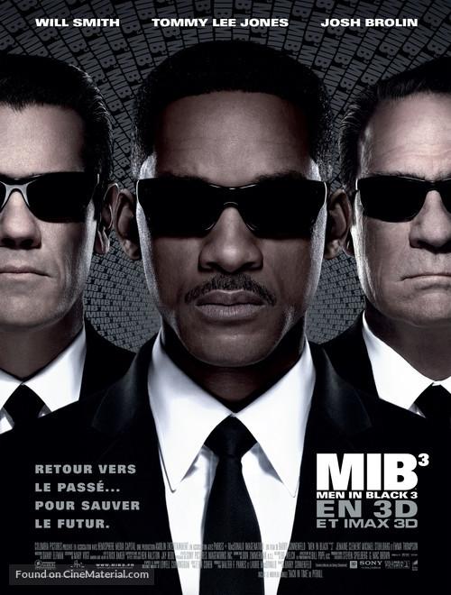 Men in Black 3 - French Movie Poster