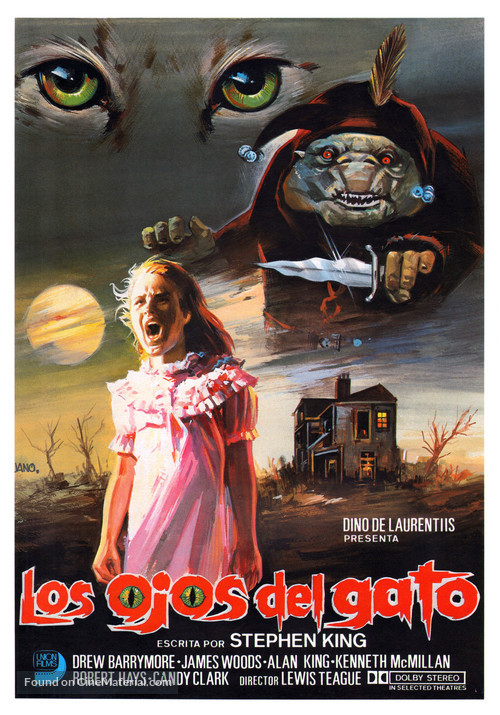 Cat's Eye - Spanish Movie Poster